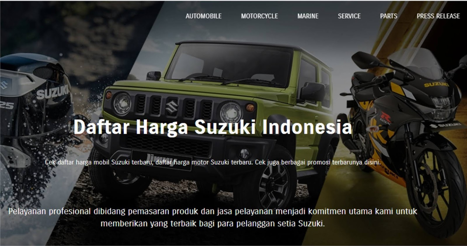 Daftar Harga Mobil Suzuki Terbaru Beserta Sedikit Ulasannya