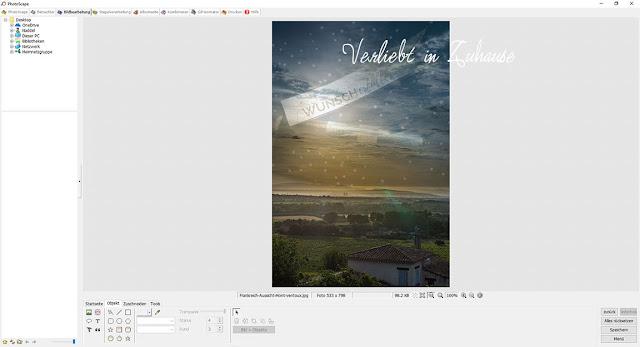 PhotoScape Anleitung und Schritt für Schritt mit Bilder-Tutorial: Objekte in das Foto einbinden