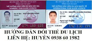 Lop hoc Huong Dan Vien DU LICH dieu kien de doi the tren tong cuc