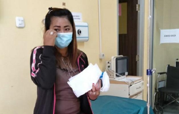 Alami Pengeroyokan Seorang IRT di Prabumulih Lapor ke Polisi