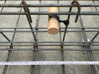 都市ガス:新規工事のスリーブ施工