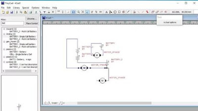 TinyCAD for schematic diagrams