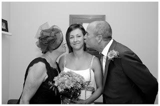 Momentos novia - besos de padres