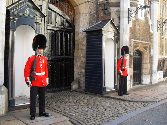 guardias ingleses