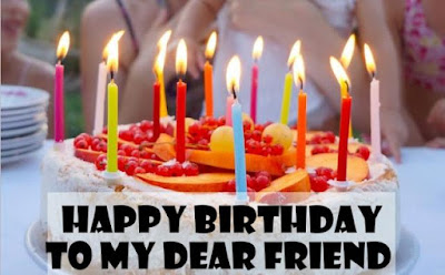 birthday wishes images for best friend female
