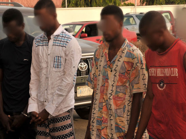 Four Cult Members that Beheaded ABSU Students Apprehended by DSS (See Photo)