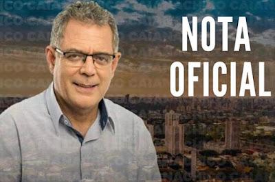 Assessoria de Caiana divulgou nota desmentindo boato da morte do vereador. Café com Jornalista