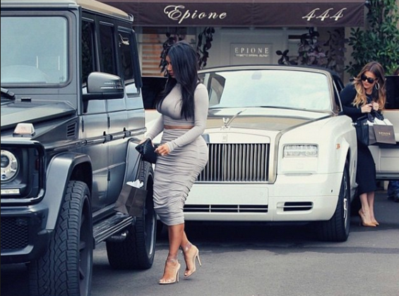 kim kardashian g wagon