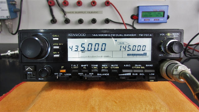 Kenwood TM-731A Mobile Radio