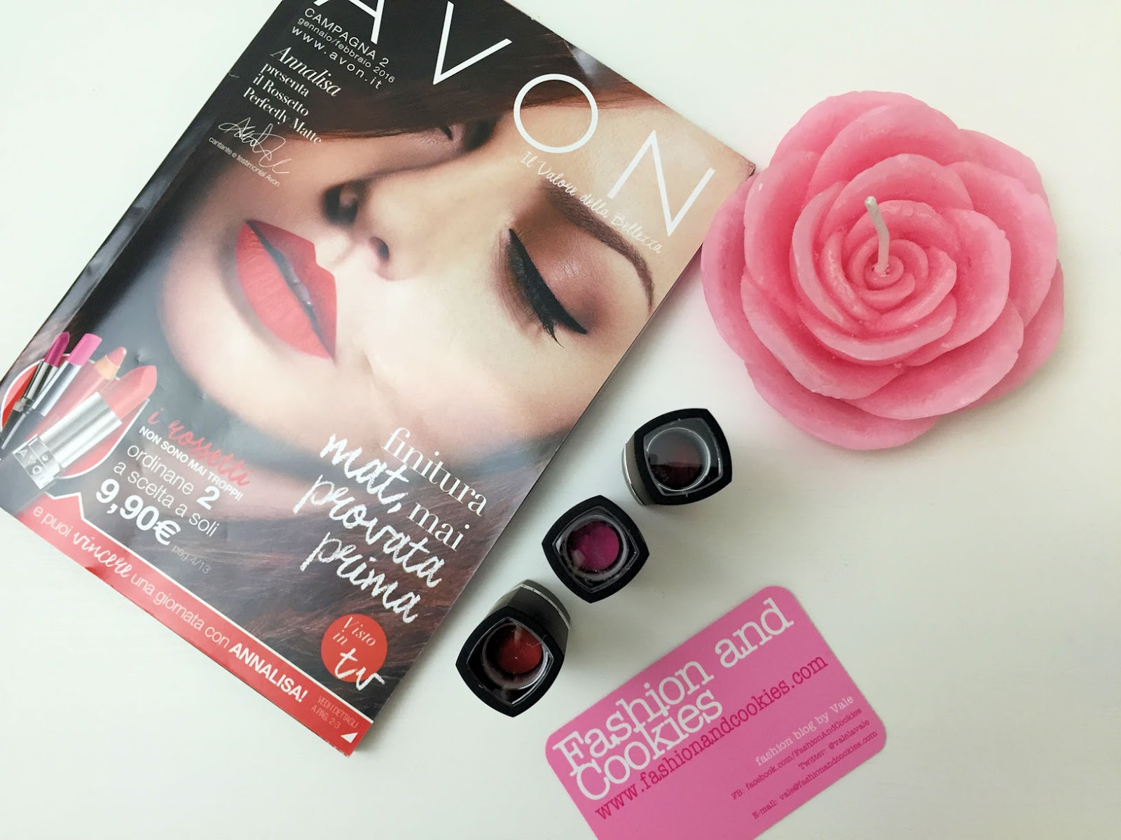 Avon Perfectly Matte Lipstick review and swatches on Fashion and Cookies beauty blog, beauty blogger