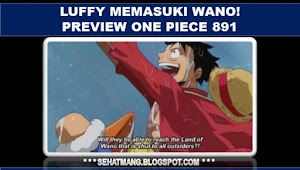 Luffy memasuki Wano! Preview One Piece 891