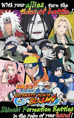 Download Ultimate Ninja Blazing APK V1.0.8 Terbaru