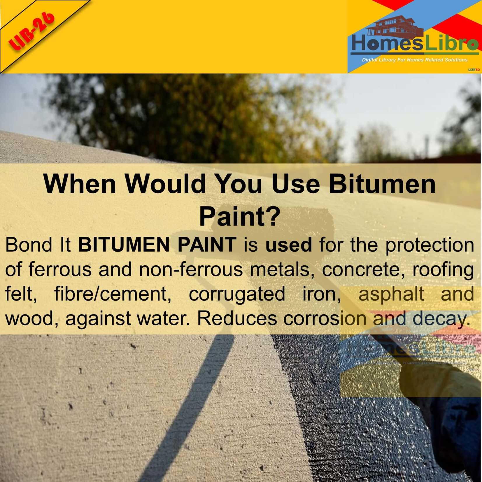What is BITUMINOUS Paint