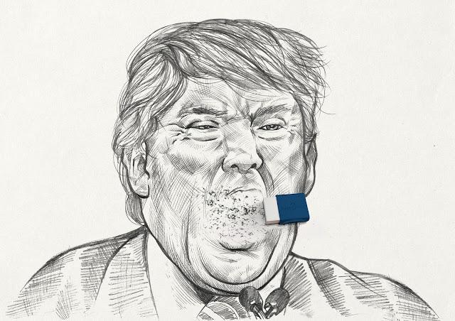 campaña-Faber-Castell-borrando-errores-Donald-Trump-Kim-Jong-Un