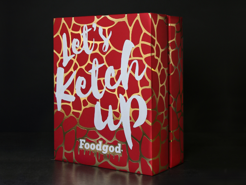 FOODGOD Celebrity Launch Promo Box