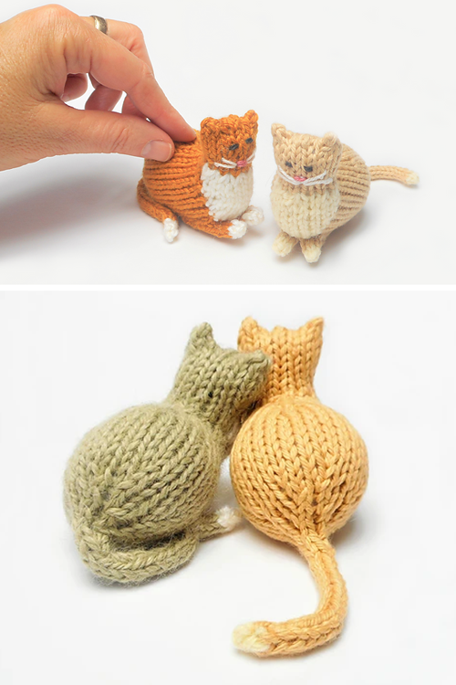 Tiny Parlor Cat - Free Pattern