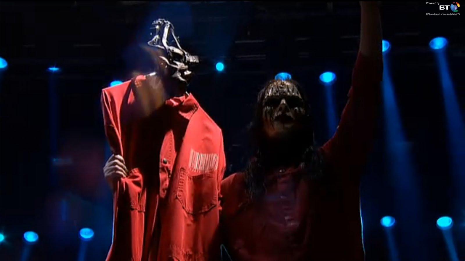 slipknot live rock in rio 2011