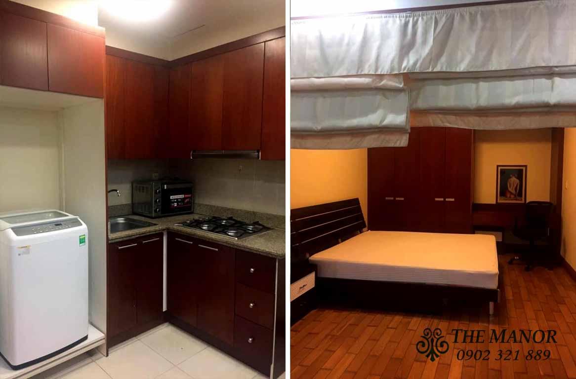 Căn hộ cho thuê giá rẻ The Manor 1 phòng ngủ giá chỉ 600$ mỗi tháng - pic 2