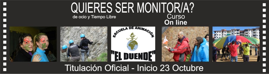 CURSO DE MONITORES/AS