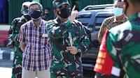 Panglima TNI Himbau Warga Bergejala Covid-19 Segera Dirawat Di Tempat Isoter