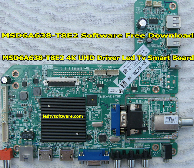 MSD6A638-T8E2 Software Free Download