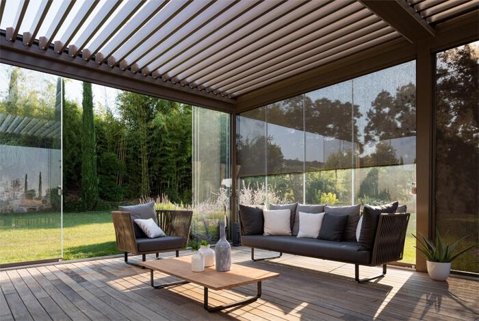 Pergola bioclimatica - veranda