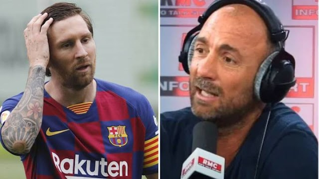 French World Cup winner, Christophe Dugarry apologises for calling Lionel Messi 'a kid who's 1.50 metres and half-autistic'
