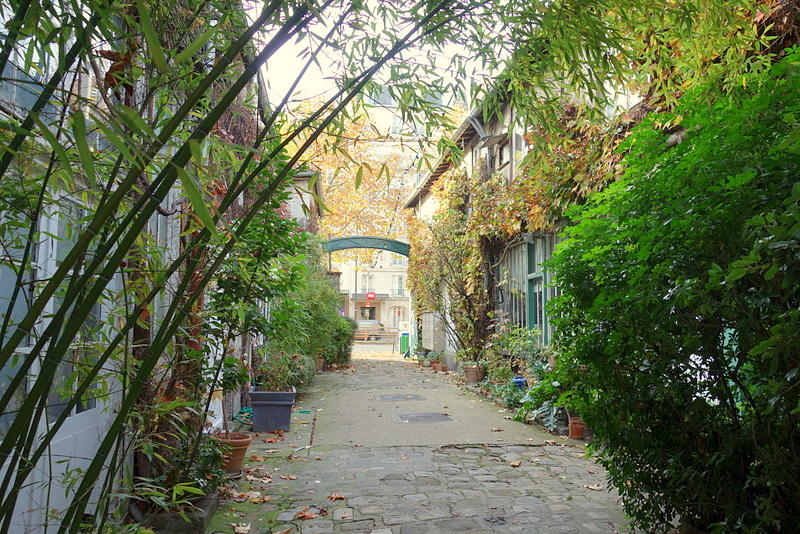 Paris chemin du montparnasse la m moire artistique de for Garage avenue du maine