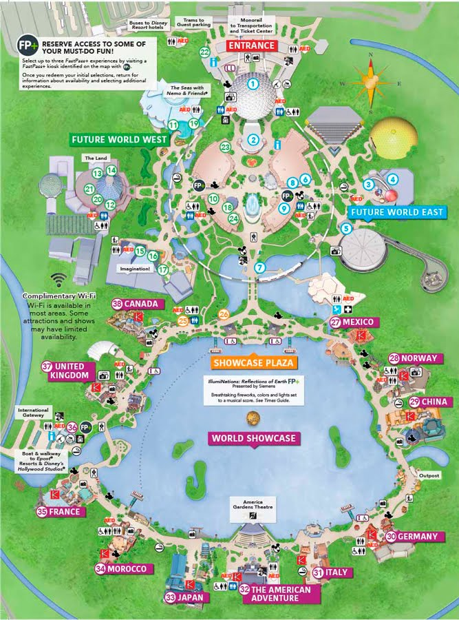 EPCOT e suas atrações - Foco em Orlando