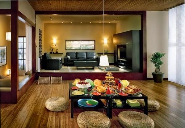 sala estilo asiático