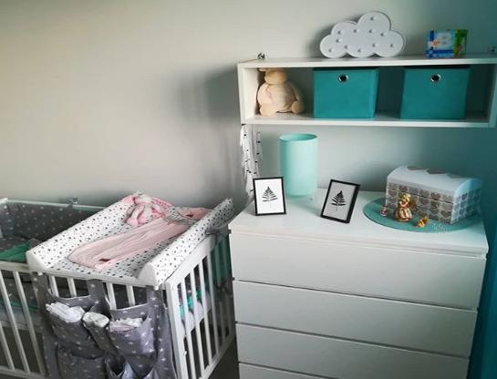 Kącik maluszka w małym mieszkaniu