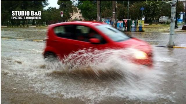 Προειδοποίηση Αρναούτογλου για τοπικές πλημμύρες