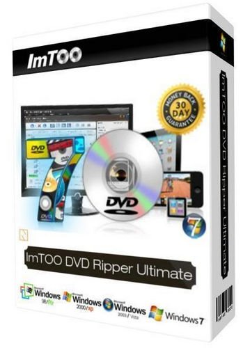 ImTOO DVD Ripper Ultimate 7.8.24 Build 20200219 poster box cover
