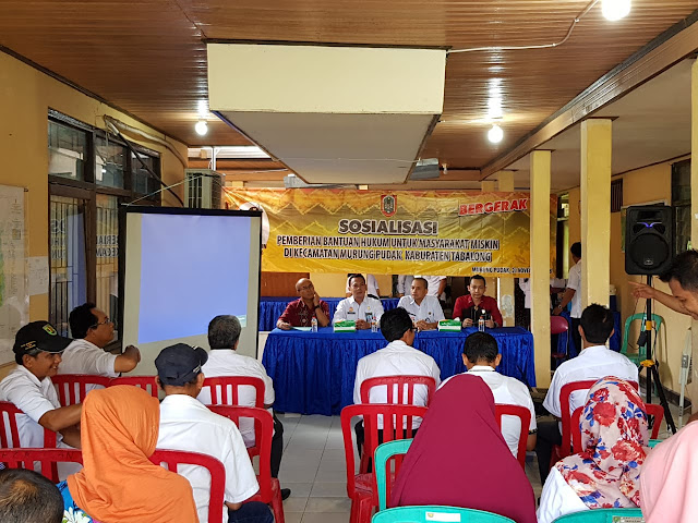 Perda Bantuan Hukum Bagi Masyarakat Miskin Disosialisasikan di Tabalong
