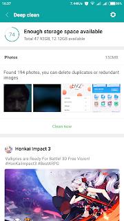 Menghilangkan Serbaneka / Misc dan File Sampah Xiaomi
