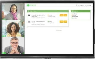 برنامج, لعمل, محادثات, ومؤتمرات, فيديو, جماعية, عالية, الجودة, VSee ,Messenger