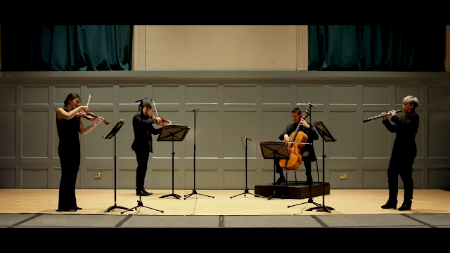 Britten: Phantasy Quartet - Scottish Chamber Orchestra (Photo taken from live-stream)