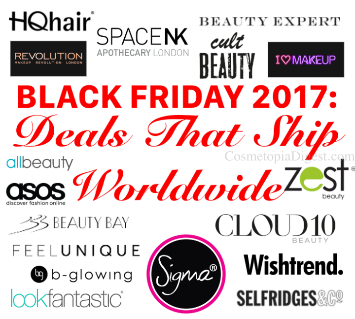 Black Friday, Cyber Monday Deals That Ship Worldwide For 2017