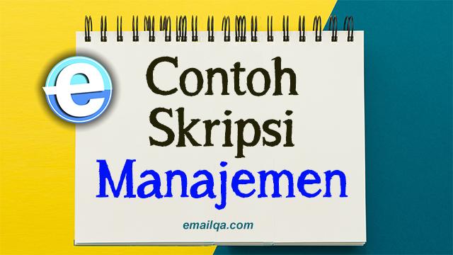 Contoh-Skripsi-Manajemen