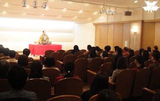 三遊亭楽春講演会「笑いの効果でリフレッシュ」