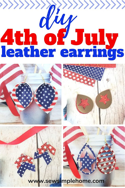 Free Patriotic Earring Cut File