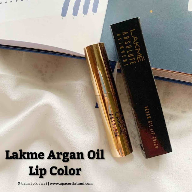 [REVIEW] Lakme Absolute Reinvent Argan Oil Lip Color - 04 Soft Mauve