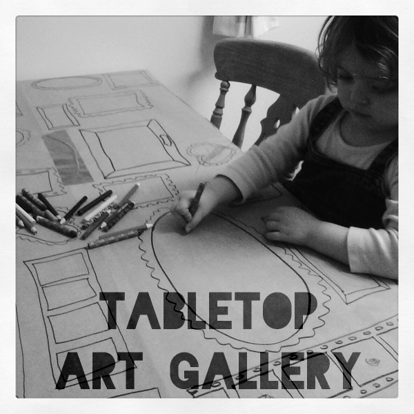 Make it: Tabletop Art Gallery