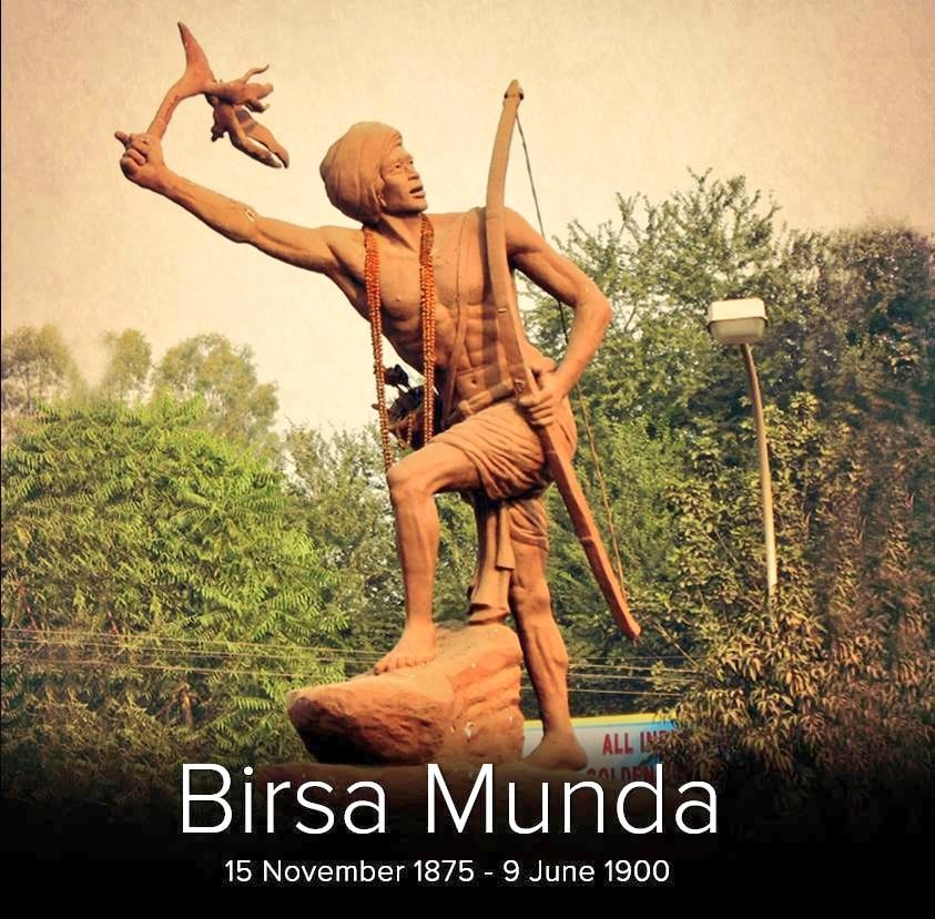 Birsa Munda - (15 November 1875 - 9 June 1900)  IMAGES, GIF, ANIMATED GIF, WALLPAPER, STICKER FOR WHATSAPP & FACEBOOK