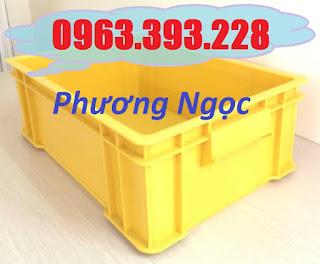 Thùng nhựa đặc công nghiệp, thùng nhựa đặc B4 có nắp, khay nhựa đựng ốc vít 82431512_516625502285464_4938238905997590528_n