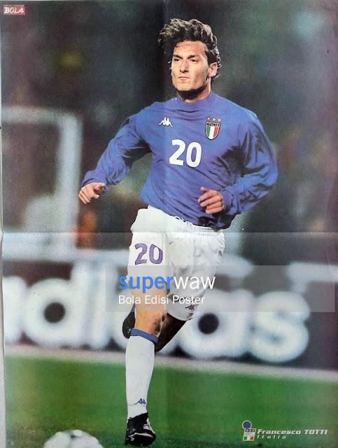 Poster Francesco Totti (Italia)