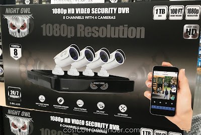 Make your family safer with the Night Owl C-841-A10 HD video Surveillance System