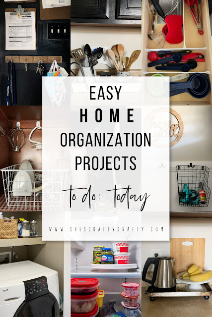 easy organizing ideas for your home