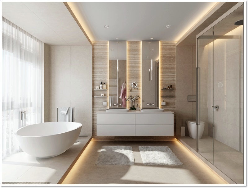 Best 9 Luxury Elegant Bathroom Designs Home Design Ideas