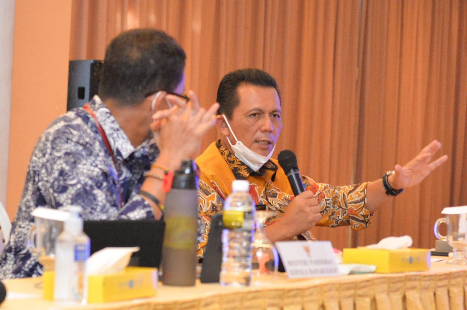 Gubernur Kepri Pimpin Rapat Koordinasi STCA, Terkait Rencana Dibukanya Kunjungan Wisman di Batam dan Bintan Mulai 21 April Ini